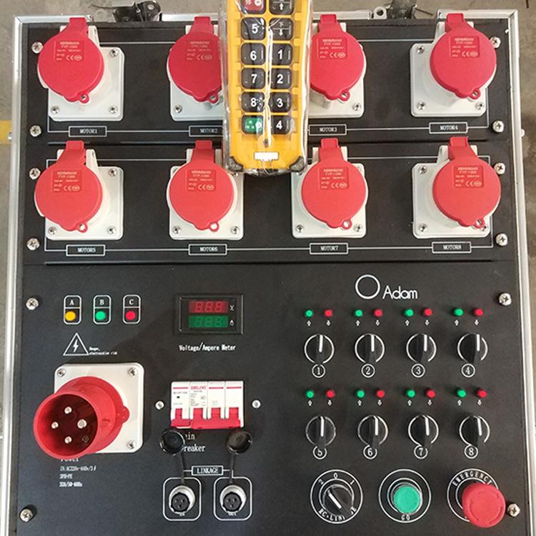 8 Way Chain Hoist Controller